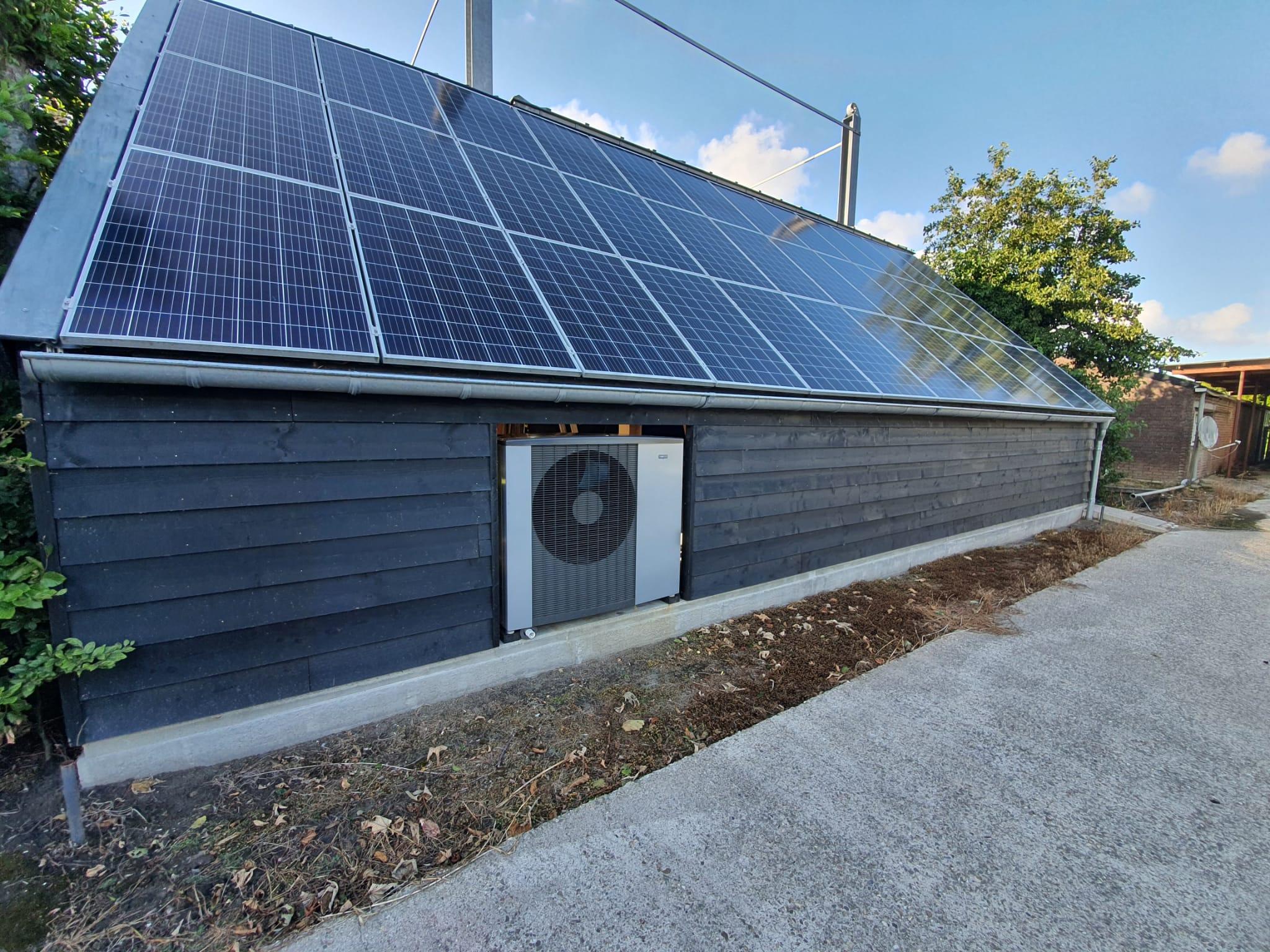 Warmtepomp installatie bestaande woning te Zwaagdijk-Oost