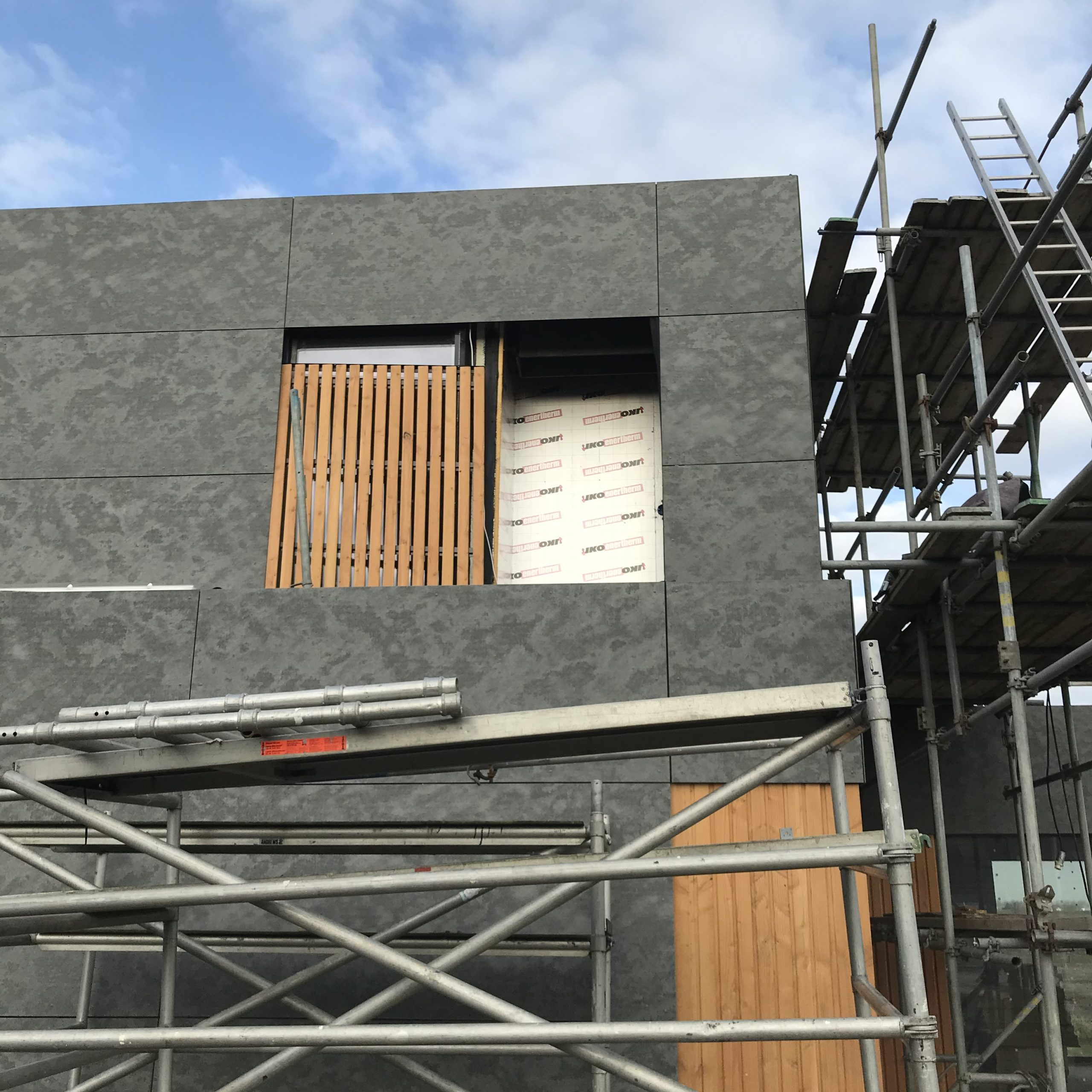 Warmtepomp installatie nieuwbouw woning te Achthuizen